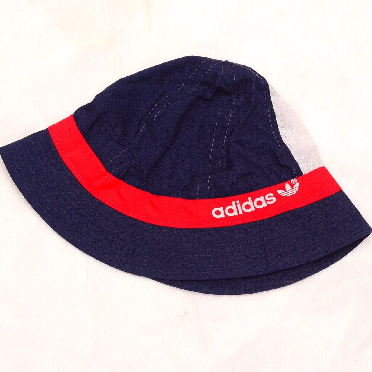 Vintage 1980 s adidas bucket hat! This baby is a special and - Depop 8156a378d4a
