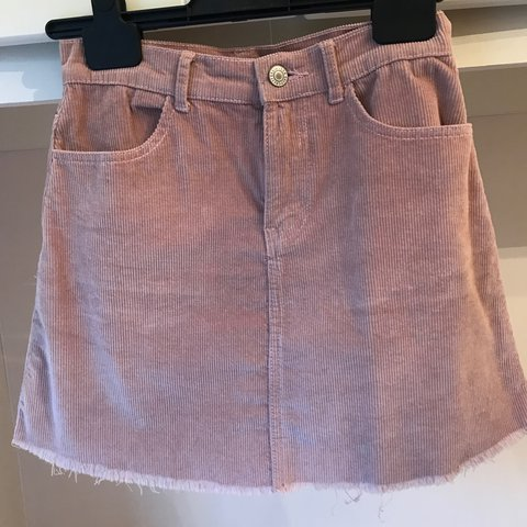 bc109ebe9c @gkalra. 2 years ago. Manchester, UK. Brandy Melville pink cord mini skirt. Size  6. Only been worn ...