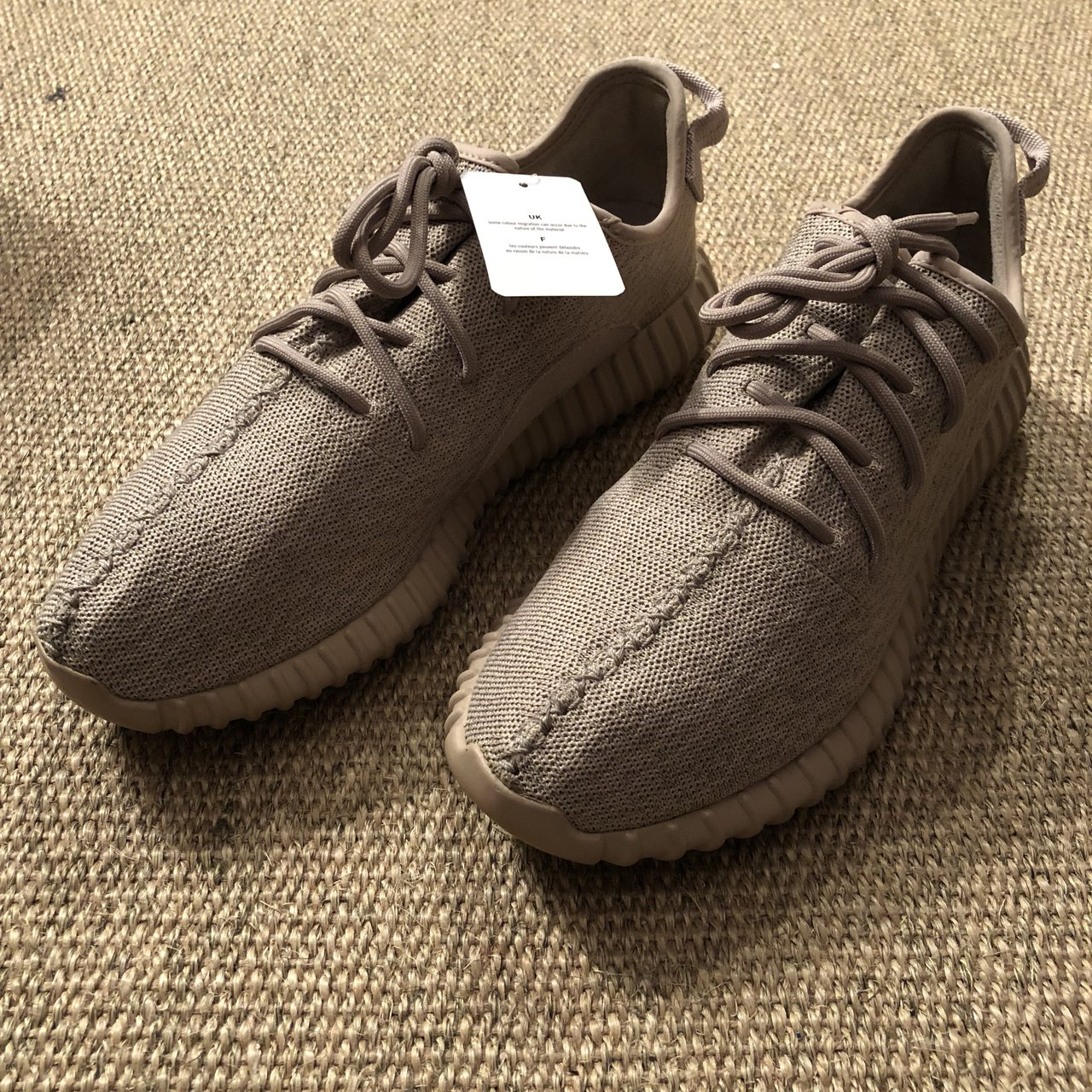 00c7e1e55b85 ADIDAS YEEZY ULTRA BOOST 350 V1 Oxford Tan