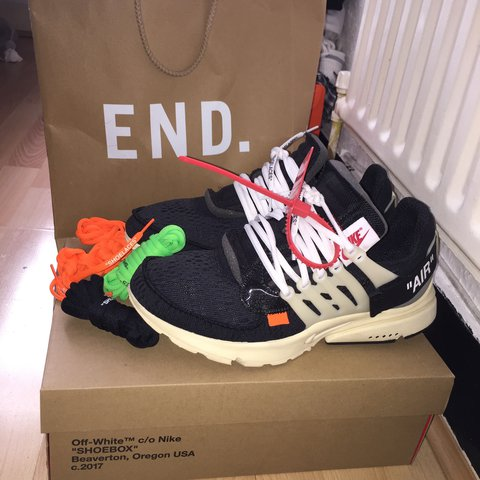 a40c3d38aab Nike X Off White Air Presto The Ten by Virgil Abloh Size 8 - Depop