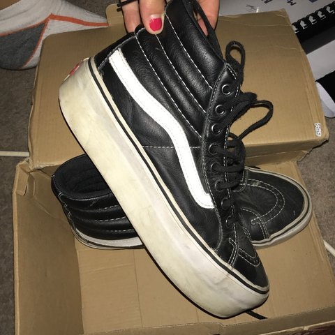 043d3abf51 Rare Platform Vans 😍 Selling as they re too big for me! 6.5 - Depop