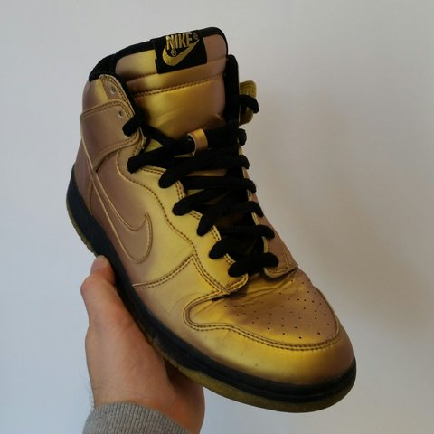 Nike Dunk High Premium Olympic Gold Edition 107d1bc98ad5