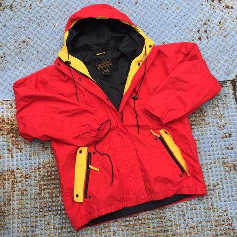 df07a14caf6b Eddie Bauer Gore-Tex rain jacket. Great condition with in is - Depop