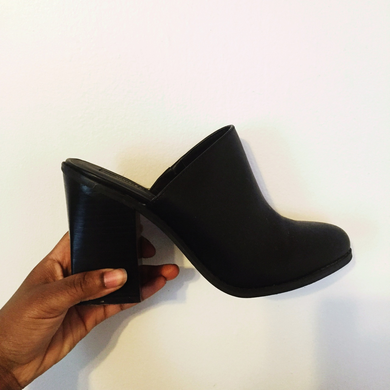 Forever 21 Black Mules. Not recommended