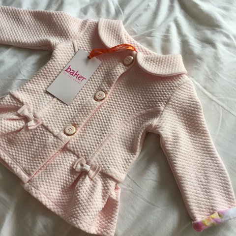 ac94356a841f Ted Baker baby clothes (3-6 month) light pink blazer jacket - Depop