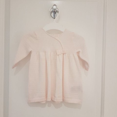 5cc6d602d370 @ivakiki. 10 months ago. Bexleyheath, GB. BRAND NEW Knitted Baby Girl Dress  Mothercare Up to one ...