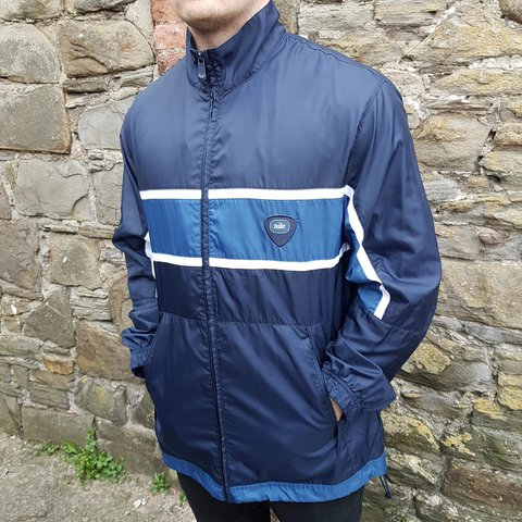 Vintage Nike zip up Jacket Size Large (L) Navy blue colour - Depop 3f2f5f0b1