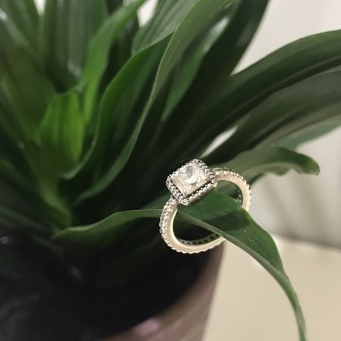 987907a38 Authentic Pandora ring. Size 48/ H 1/2 - I 1/2. Beautiful a - Depop