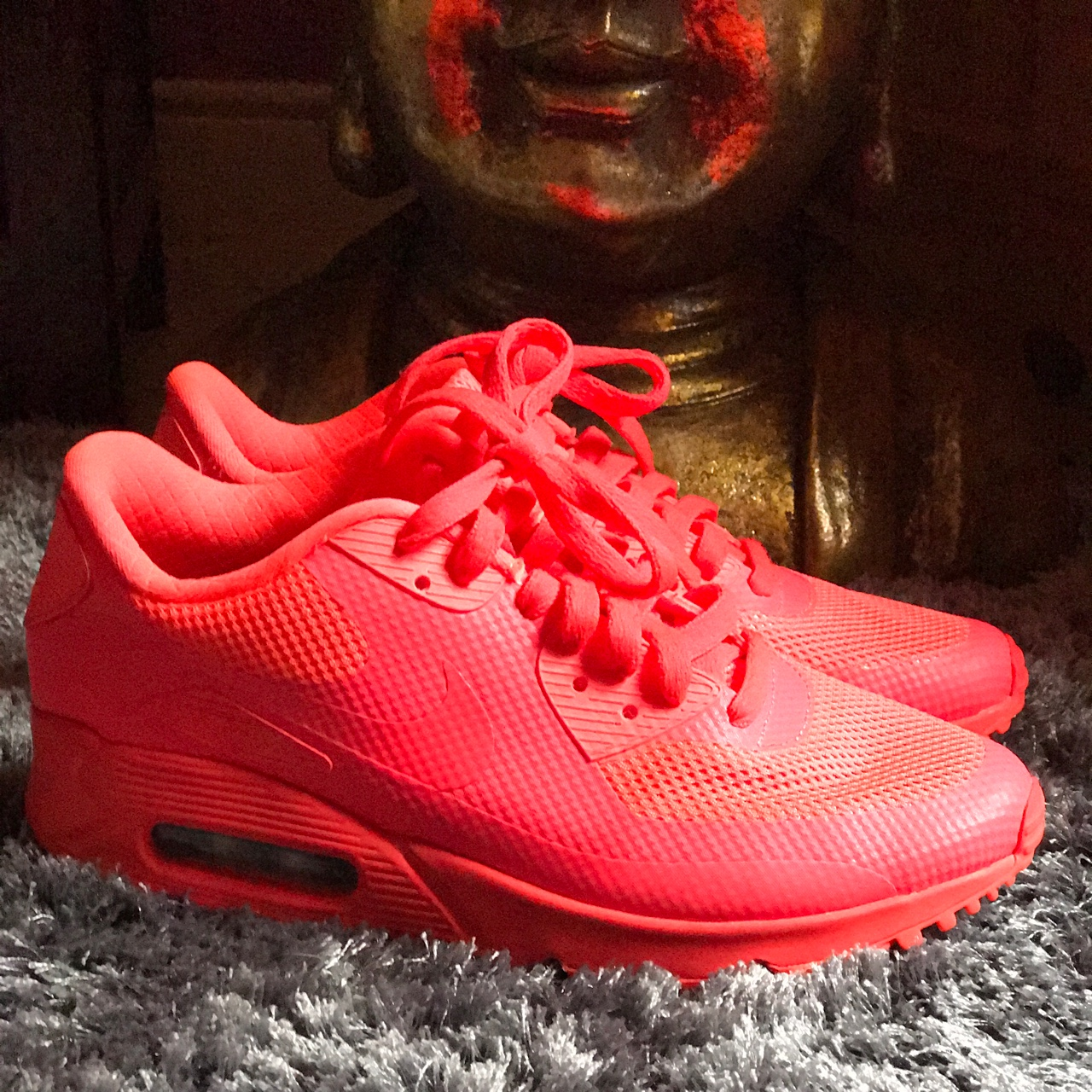 Nike Air Max 90 Ultra Moire in size 5 Colour: Bright Depop
