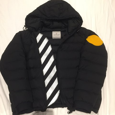 moncler off white jacket