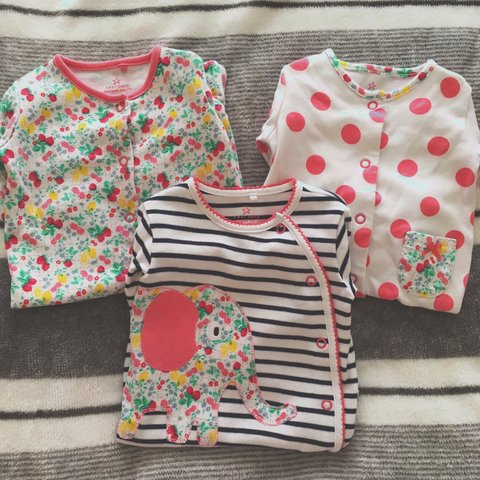Clothing, Shoes & Accessories Girls Next Up To 1 Month Sleepsuits Girls' Clothing (newborn-5t)