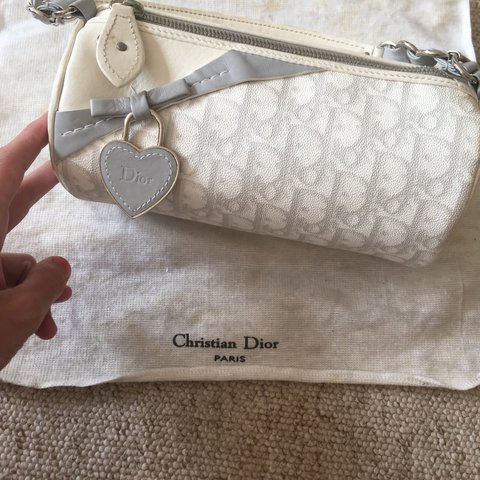 Taking offers on my Christian Dior barrel bag. Genuine and a - Depop 0b6c1b0ba8888