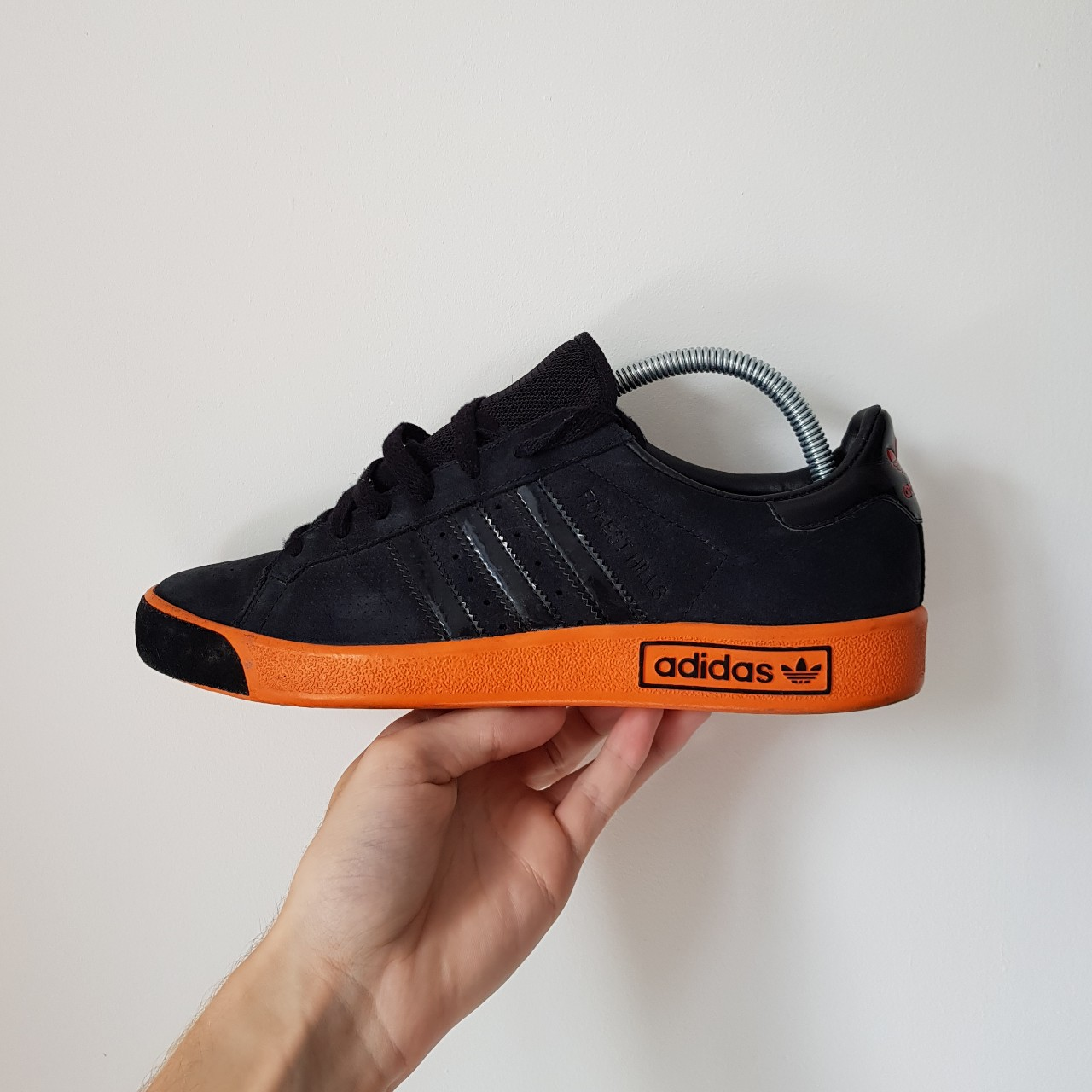 Adidas Forest Hills Trainers black and