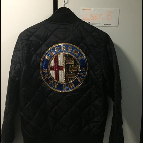Supreme Fuck Em All Alfa Romeo Jacket New Worn Once It Depop