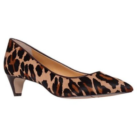 5d3084bd6108 @giv16. 3 years ago. United Kingdom. Nine West leopard print kitten heels.