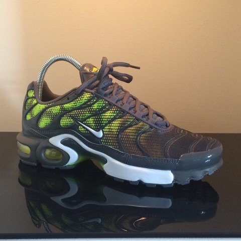 5d70439dd0 ... coupon nike air max plus tn tuned 1 mens trainers shoes dark green.  depop 81523