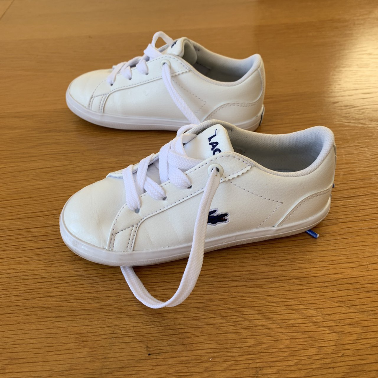 Boys Lacoste trainers infant size 8