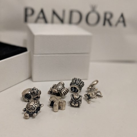 2e001af3a HUGELY DISCOUNTED PANDORA CHARMS £5 EACH. Update: just one - Depop