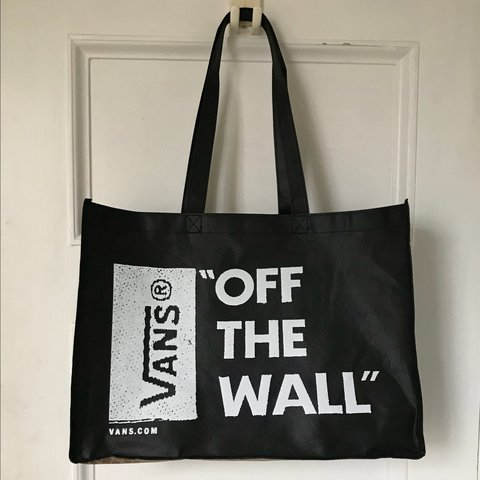 00728f870d NEW WITH TAGS VANS canvas tote bag. Never used