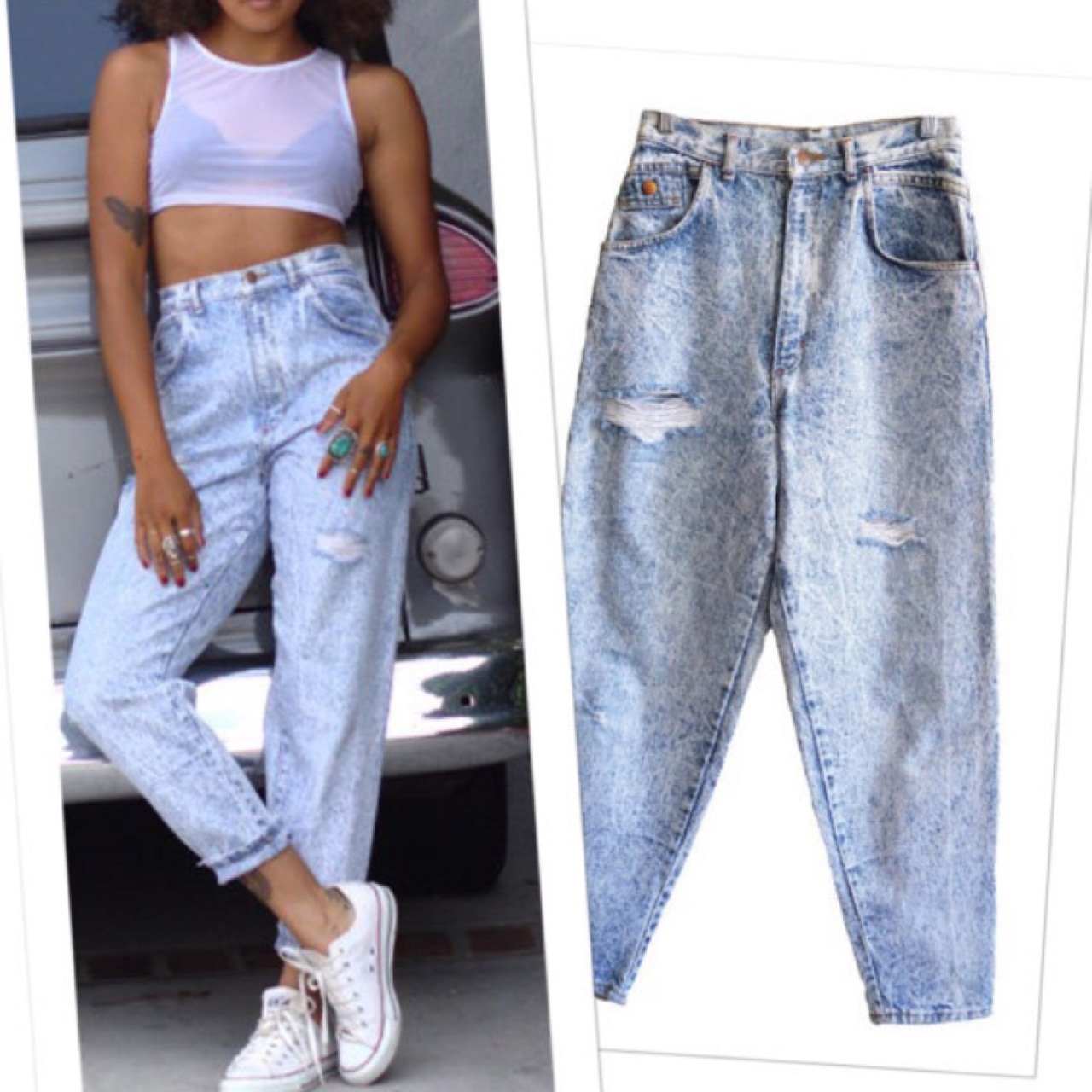 buy good temperament shoes buy sale Tag Less 80's baggy jeans super soft and slinky,... - Depop