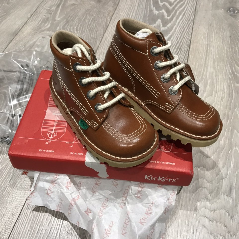 infant size 8 kickers