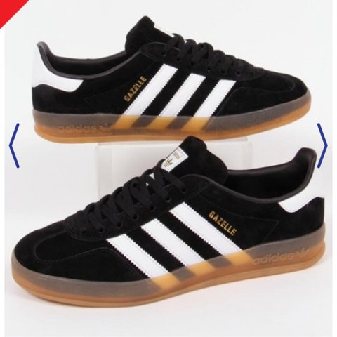 brand new 4c9f8 1807b  birdemily12. 3 years ago. Bristol, UK. Adidas originals gazelle OG trainers sneakers.  Black ...