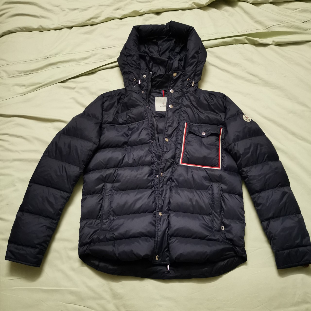 45d86e8af Moncler Lightweight down jacket Longue Saison in... - Depop