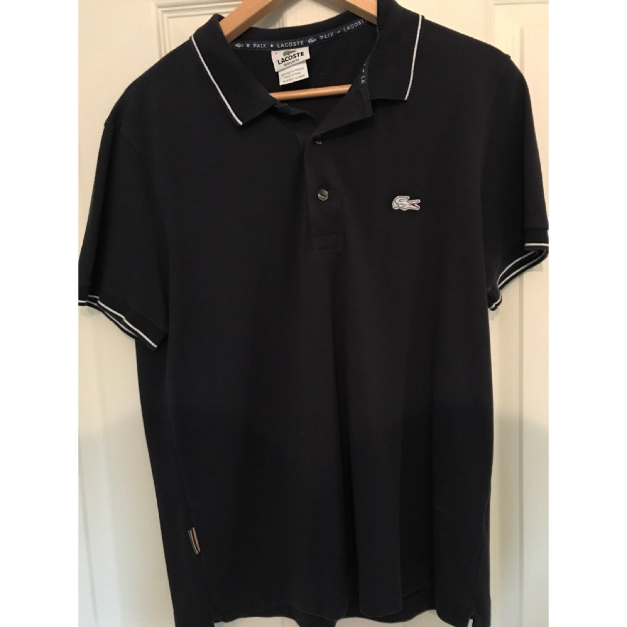 098bb959 Lacoste Logo Polo Shirt Never Worn So 10 10 And Took Off It Depop