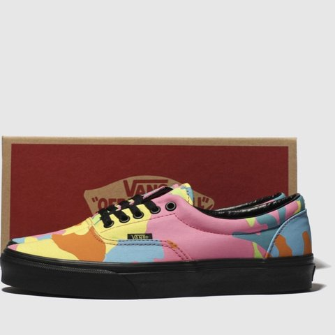 40fa155e309928 Vans regular Trainers Daps Rainbow 🌈 Womens Girls Unisex 3 - Depop