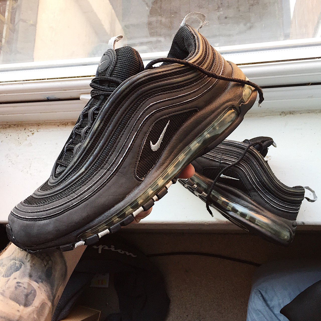 buy online 734ad 289a7  royalrags. 2 years ago. Derby DE1, UK. Nike Air Max 97 Beaters