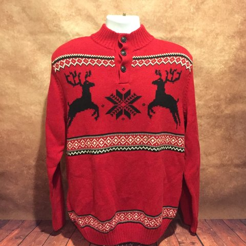 01995f8c9 ... promo code for chaps by ralph lauren polo ugly christmas sweater  reindeer depop e8b8c 12d24