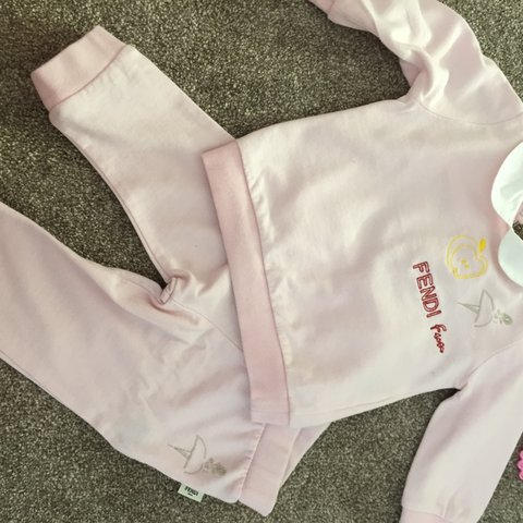 72467eb8d @xxcharl1xx. 2 years ago. Widnes, Halton, UK. Baby fendi tracksuit 6 months  immaculate condition cost £200 ...