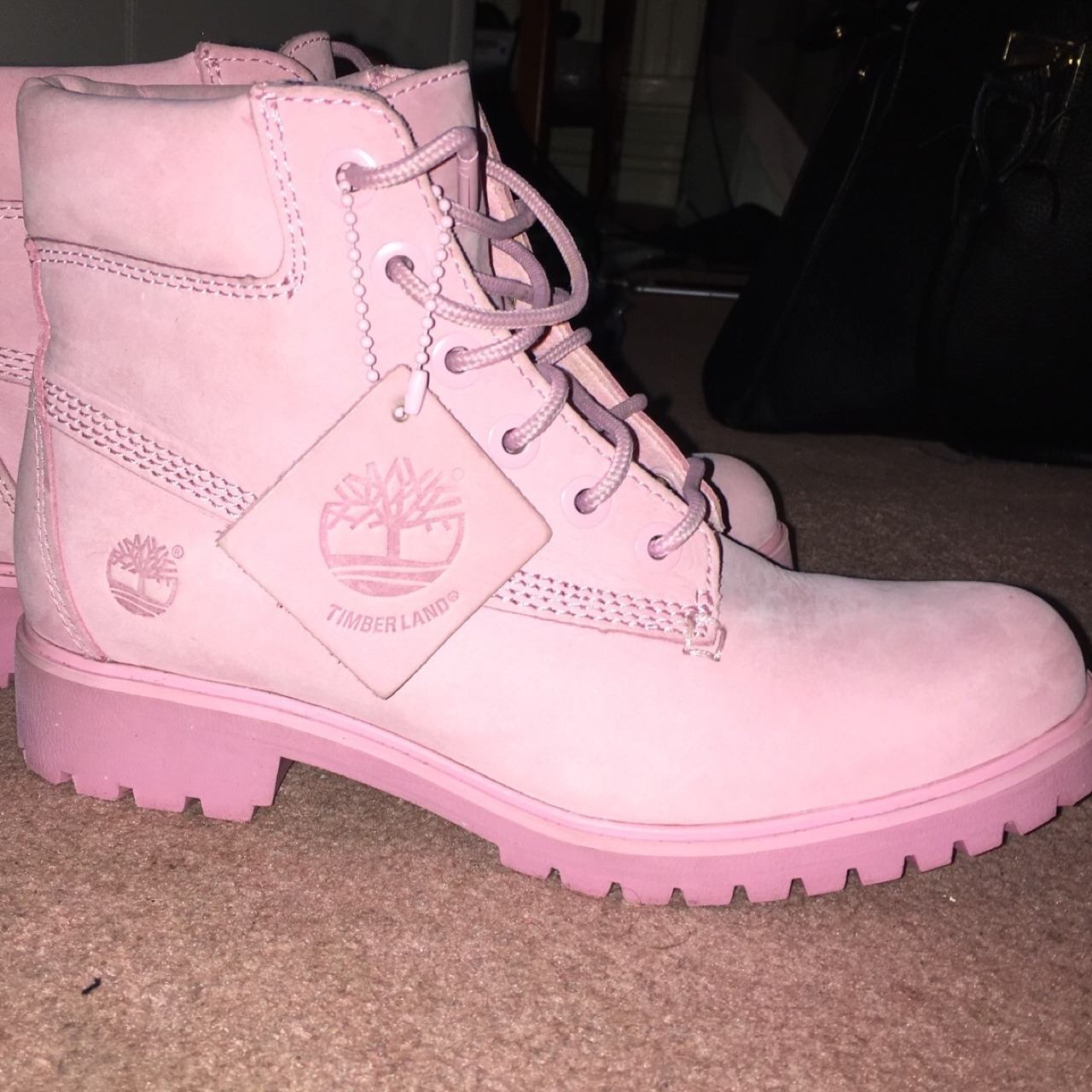 Timberland Limited Edition Size 5 timbs boots Depop