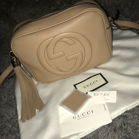 aed9cfb154aa55 Gucci Soho Disco bag. Used but in excellent condition except - Depop