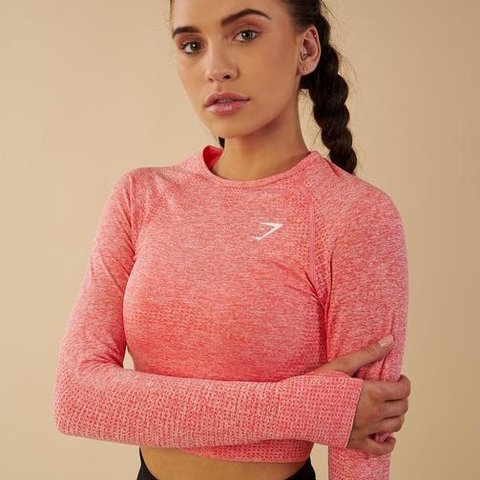 417d95b2867 @staces. 6 months ago. Los Angeles, United States. brand new gymshark vital seamless  long sleeve crop top ...