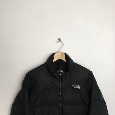 bf32442524 Women s The North Face Black 700 Down Black Puffer Jacket - - Depop