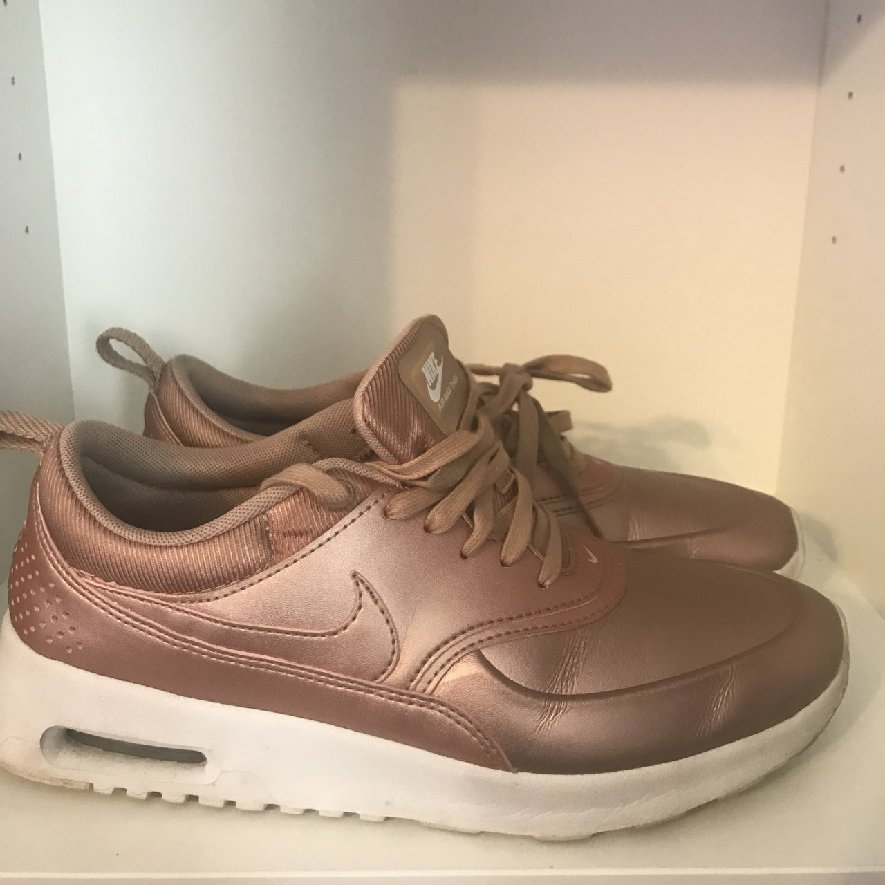 finest selection 7e76a d233e  akhadija. 9 months ago. Rochester, United States. Rose Gold Nike Air Max  Thea s ...