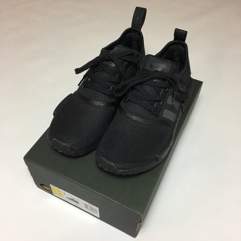 380a98a35 Adidas NMD Triple Black R1 • UK 9.5 • 10 10 condition