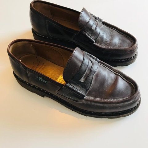 3fdbce96814 Men s Reims paraboot loafer Size 8 Purchased from Michael - Depop