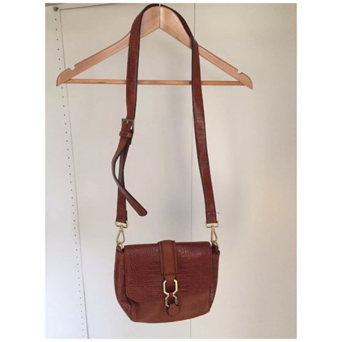 2d2b0015b209 Topshop brown bag. Used couple of times in good condition. - Depop