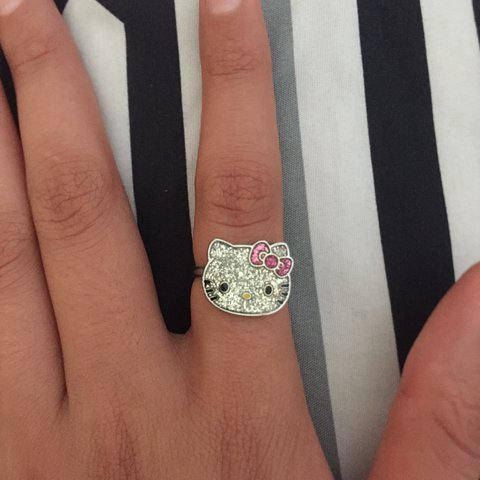 ae5515d89 @iratedemon. 2 years ago. United States. Hello Kitty adjustable ring ...