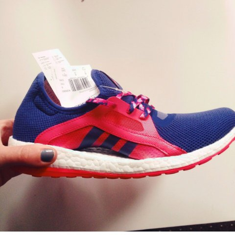 101ab0db89b77 Adidas pure boost size 6. Only been worn once and are so RRP - Depop
