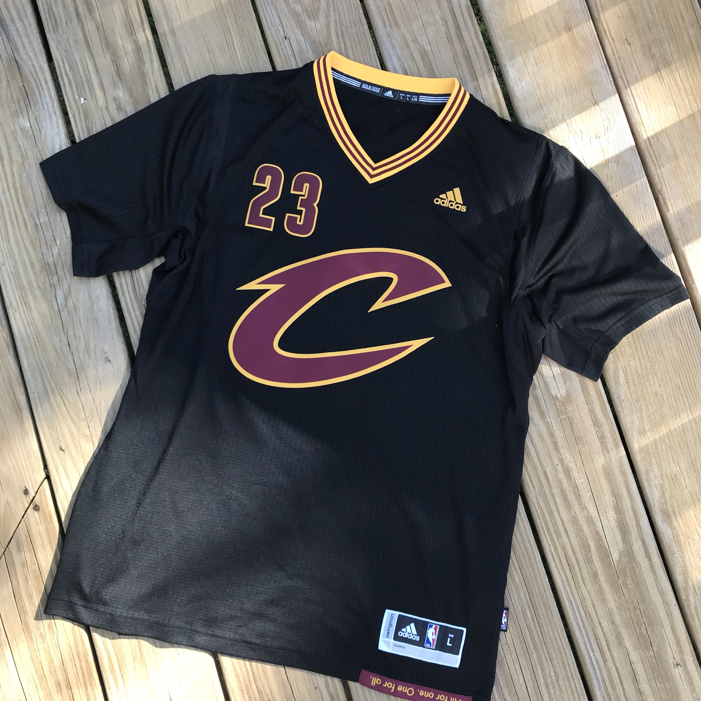 promo code c12f8 725b0 Discontinued Lebron James cavs Jersey. Nike makes... - Depop