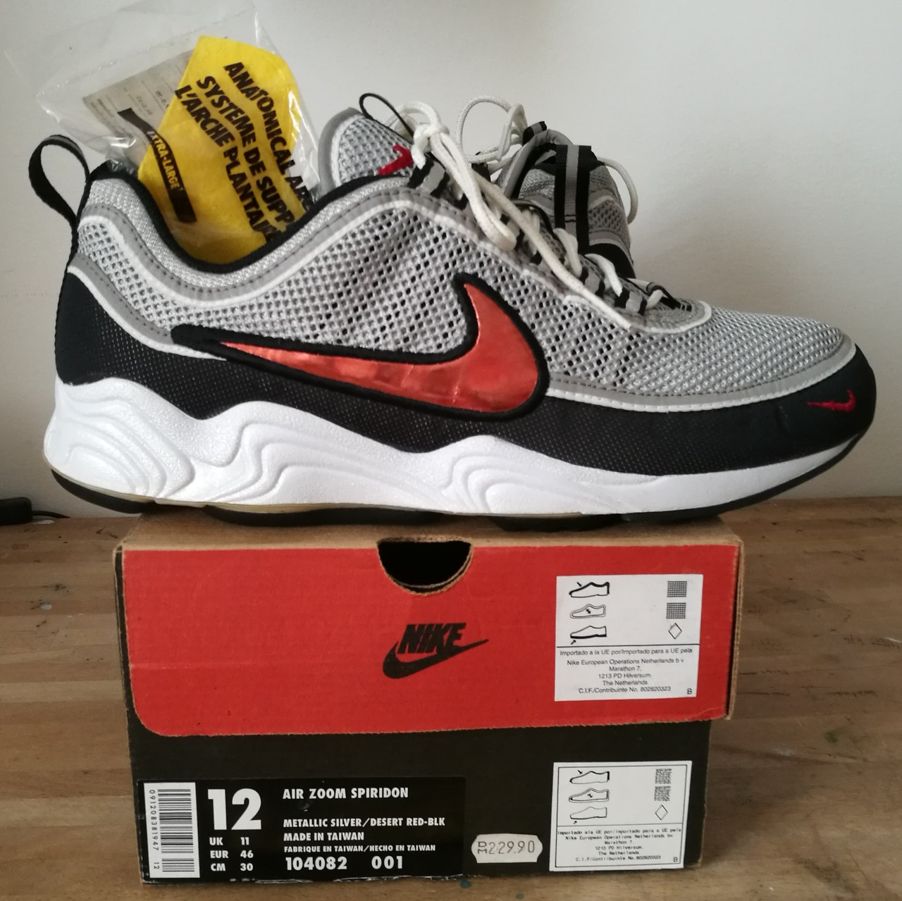 nouvelle collection 4da71 770a9 Vintage Nike Air Zoom Spiridon OG from 1997, Size... - Depop