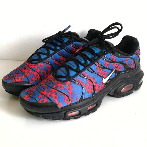 online store 531d9 9fec6 ... Nike Air Max Plus TN Spiderman (Paris fashion week) 2007 to - Depop ...