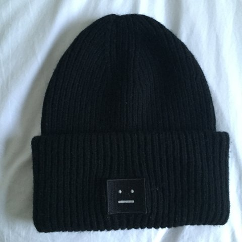 5eaa8ee9d99 Oversized Acne Studios Beanie hat. Never worn and really Was - Depop