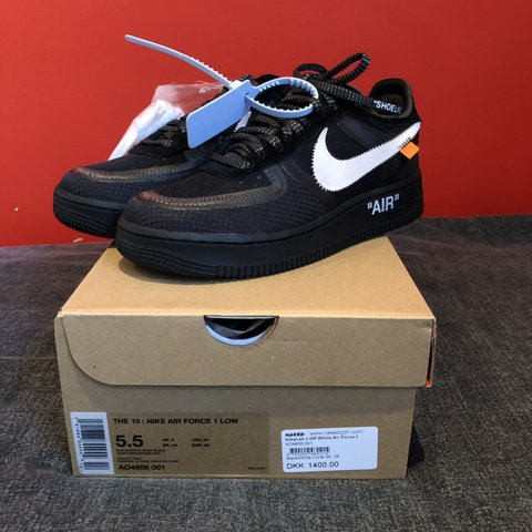 07d0125385c0 Off White Nike Air Force 1 Size  UK 5 US5.5 Condition  New - Depop