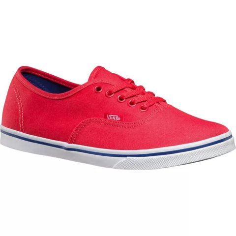 Brand new in box VANS authentic lo pro skate shoes women 4 - Depop 07fe8f324