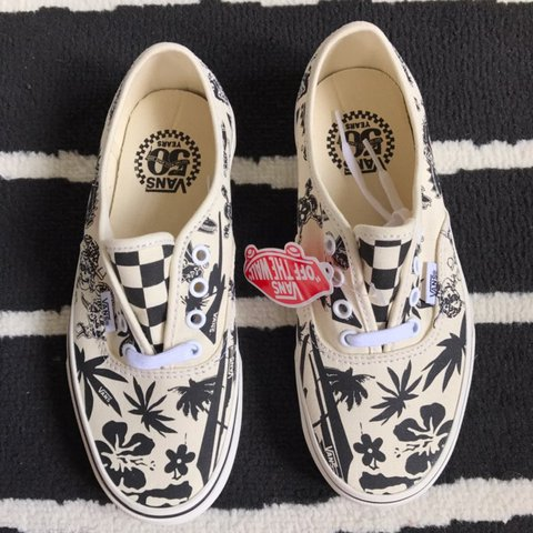 c1c206a854 Special 50th anniversary Vans Authentics  Never sold in Very - Depop