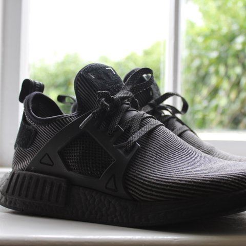 47f693e10 Adidas NMD XR1 Triple Black size 10 First of the premium 3M - Depop